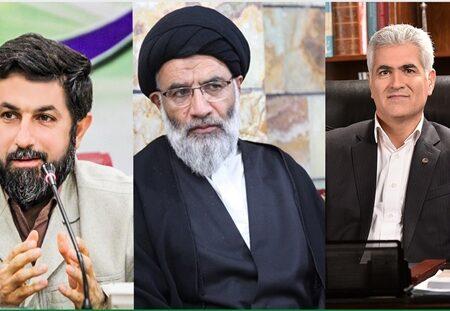 دیدارهای جداگانه دکترشیری مدیرعامل پستبانکایران با نماینده ولیفقیه و استاندار خوزستان