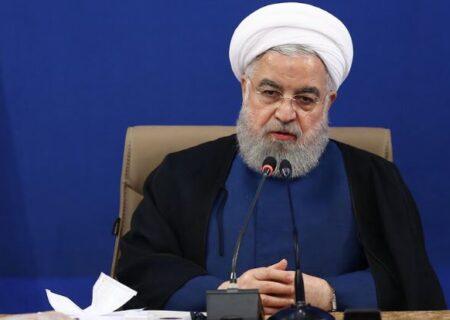 روحانی: حادثه هواپیمای اوکراینی ناشی از بیتدبیری یک جمع بود