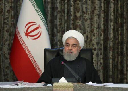 روحانی: موج سوم را سریعتر از آنچه پیشبینی میشد، مهار کردیم