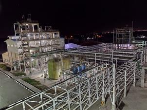 طرح پارس کیمیا کلر خوزستان با تسهیلات بانک صنعت و معدن افتتاح شد
