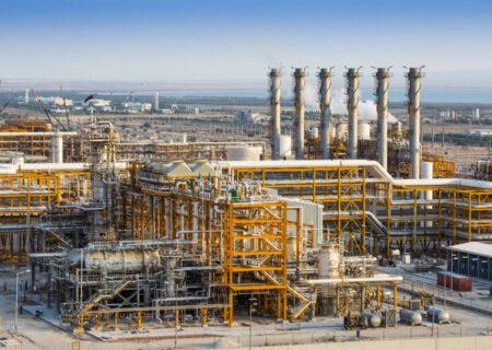 مقدار فرآورش گاز کشور افزایش یافت
