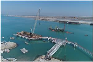 اسکله اختصاصی شرکت خدمات بندری ایران که از سوی بانک صنعت و معدن تأمین مالی شده است، افتتاح شد