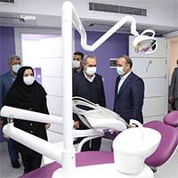 افتتاح درمانگاه تخصصی بانک ملی ایران در استان قم