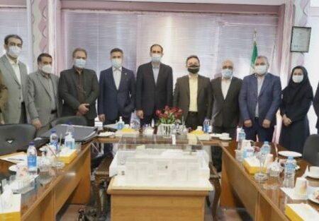 بازدید هیات مدیره بانک ملی ایران از اداره کل مهندسی و املاک