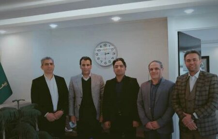 دیدار مدیرعامل بیمه باران با مدیران دفاتر بازاریابی مشهد