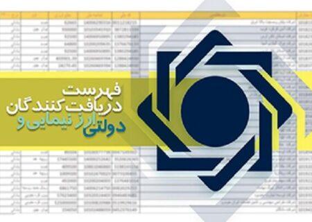 فهرست دریافتکنندگان ارز نیمایی و دولتی به روز شد