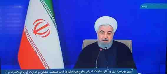 با فرمان رئیس جمهور بهره برداری از طرح انتقال آب خلیج فارس به چادرملو آغاز شد