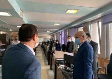 بازدید مدیرعامل بانک کشاورزی ازبرخی شعب تهران بزرگ و ادارات مرکزی