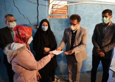پرداخت خسارت زلزلهزدگان سیسخت با حضور مدیرعامل بیمه سینا
