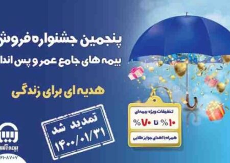 جشنواره فروش بیمههای جامع عمر و پس انداز بیمه آسیا تمدید شد