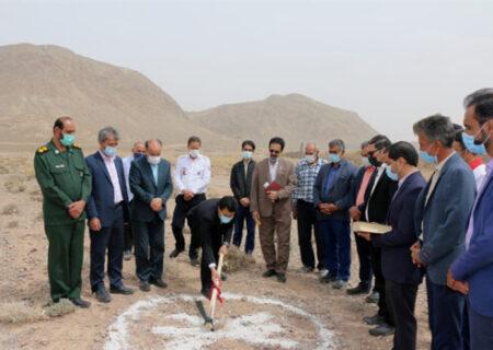 مشارکت بانک کشاورزی در احداث مرکز اورژانس در روستای خوانسار استان یزد