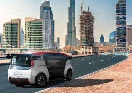 ناوگان ۴۰۰۰ تاکسی رباتی در شهر دوبی از سال ۲۰۳۰