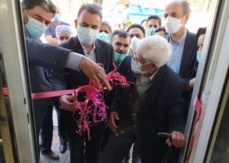 افتتاح شعبه بانک ملی ایران در هشتجین