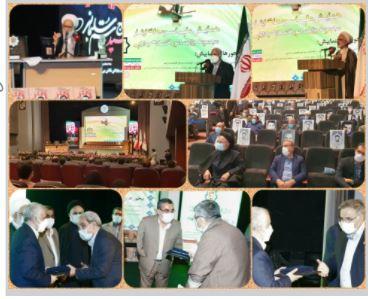 تجلیل از سه جانباز و ایثارگر بانک صادرات ایران در همایش ملی اسوههای ایثار
