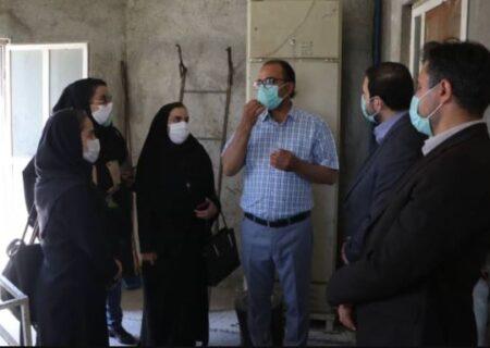 بازدید رسانه ای خبرنگاران همدانی از اقدامات حمایتی بانک ملی ایران از تولیدکنندگان