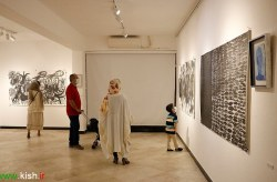 برگزاری نمایشگاه طراحی « خط ته خط» در کیش