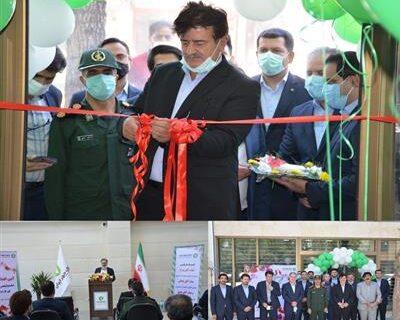 ساختمان جدید شعبه ولیعصر(عج) ازنا افتتاح شد