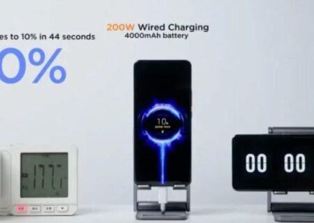 شارژ کامل تلفن در ۸ دقیقه!