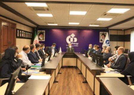 نشست کارگروه کمیته وصول مطالبات