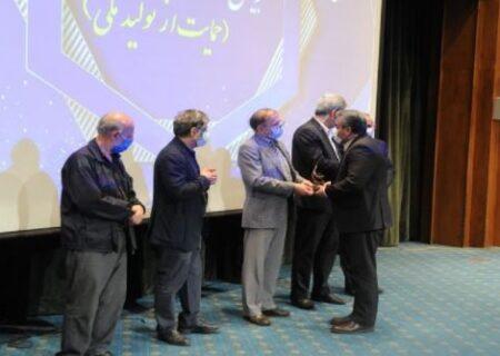 ایران خودرو نشان ملی جشنواره حاتم را دریافت کرد