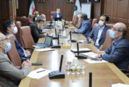 جلسه ارزیابی عملکرد تیرماه با حضور دکتربهزاد شیری مدیرعامل پست بانک ایران برگزار شد