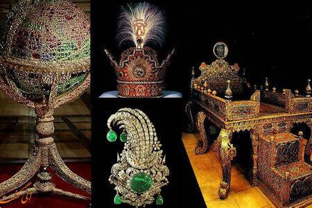 جواهرات معروف ایرانی/ از «دریای نور» تا «تاج کیانی»