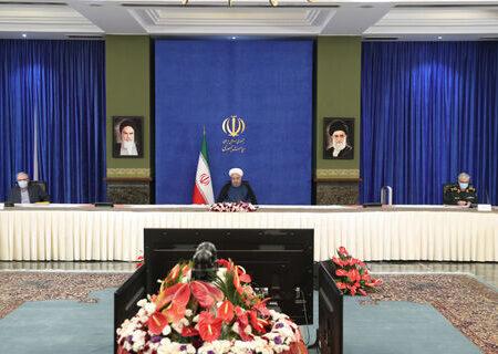 روحانی: تا پایان دولت به وعده خود در بخش واکسن عمل خواهیم کرد